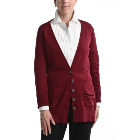 Nomadic Traders B-Friend Cardigan Sweater - Fine-Gauge Cotton (For Women)