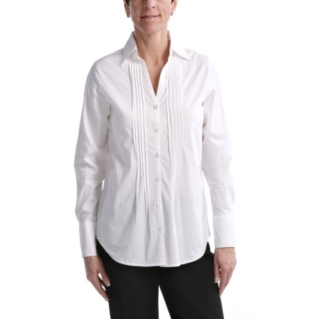 Nomadic Traders Pintuck Shirt - Stretch Cotton, Long Sleeve (For Women)