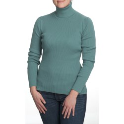 Nomadic Traders Classic Poorboy Turtleneck Sweater (For Women)