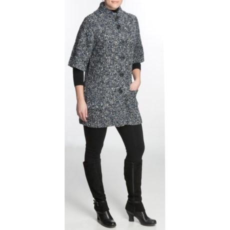 Nomadic Traders Madison Jacket - Melange Knit, Short Sleeve (For Women)