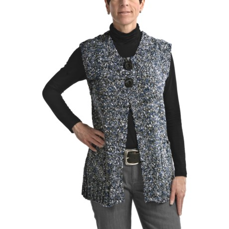 Nomadic Traders Elisa Vest - Melange Knit (For Women)