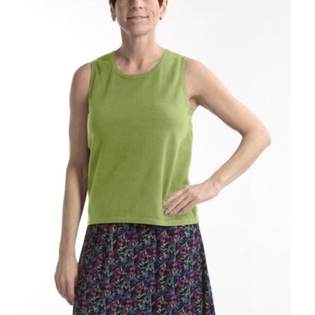 Nomadic Traders Fine-Gauge Cotton Shell - Sleeveless (For Women)
