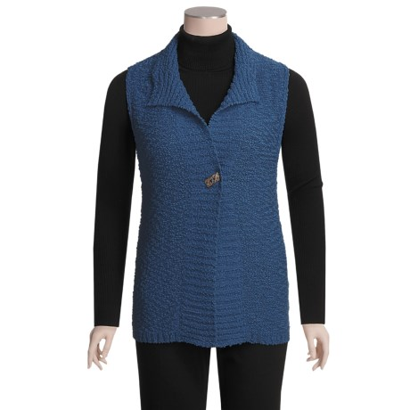Nomadic Traders Knit Vest - Button (For Women)