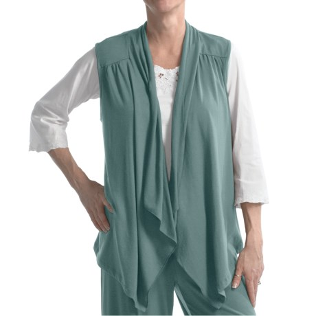 Nomadic Traders Cascade Vest - Stretch Rayon (For Women)