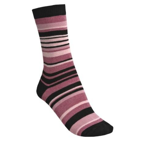 b.ella Stella Multi-Stripe Socks - Crew (For Women)