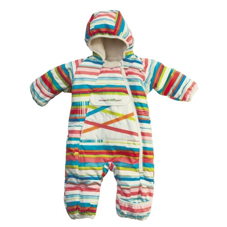 Obermeyer Snuggle Bunting - Insulated (For Infant Girls)