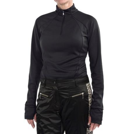 Obermeyer Tenley Shirt - Zip Neck, Long Sleeve (For Women)