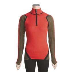 Obermeyer Tess Sweater - Zip Neck (For Women)