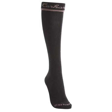 Carhartt Work-Dry® Solid Socks - Turn Cuff, Knee High (For Women)