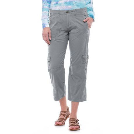Ojai Cargo Road Trip Roll-Up Pants (For Women)