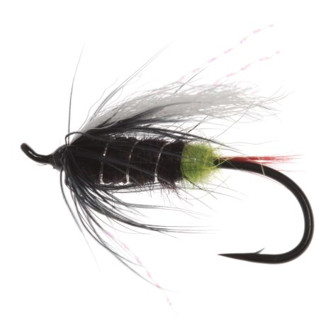 Montana Fly Company Green Butt Skunk Salmon Fly - Dozen