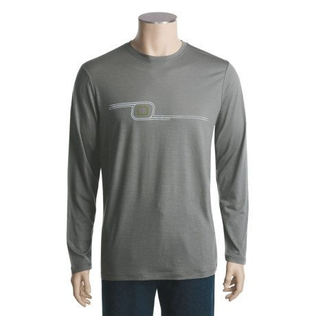 I/O Bio Merino Signature Shirt - Merino Wool, Lightweight, Long Sleeve (For Men)