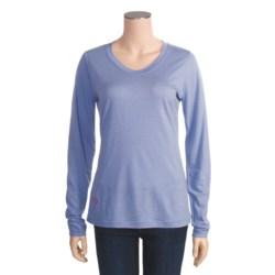 I/O Bio Merino Signature T-Shirt - Long Sleeve (For Women)