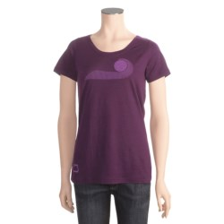 I/O Bio Merino Signature T-Shirt - Short Sleeve (For Women)