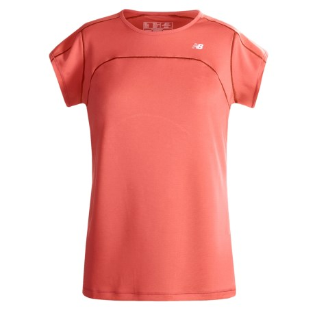 New Balance ICEFIL Shirt - UPF 40+, Short Sleeve (For Women)