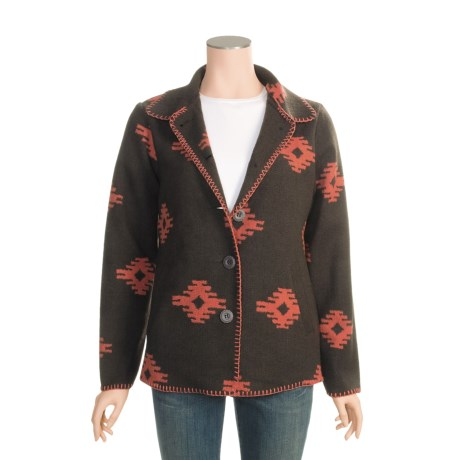 Outback Trading Valencia Blanket Coat (For Women)
