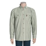 Outback Trading Drummond Plaid Shirt - Flannel, Long Sleeve (For Men)