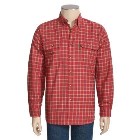 Outback Trading Hobart Checked Shirt - Flannel, Long Sleeve (For Men and Women)