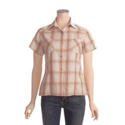Outback Trading Rural Girl Plaid Shirt - Cotton, Short Sleeve (For Women)