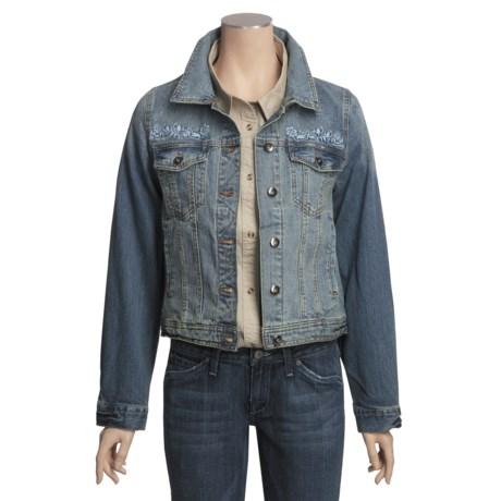 Outback Trading Heartland Jacket - Vintage Washed Denim (For Women)