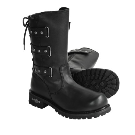 Harley-Davidson Billie Motorcycle Boots - Leather, Studded (For Women