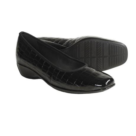 Ara Gella Croc Print Patent Leather Shoes - Wedge Heel (For Women)