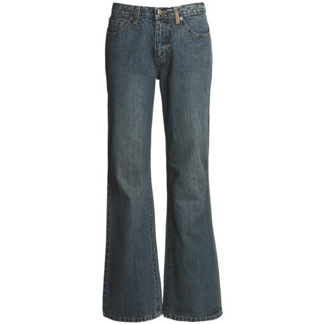 Ryan Michael Ring Denim Jeans - 13 oz. Cotton (For Women)