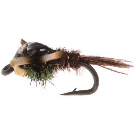 Montana Fly Company Beadhead Rubberleg Epoxy Pheasant Tail Nymph Fly - Dozen