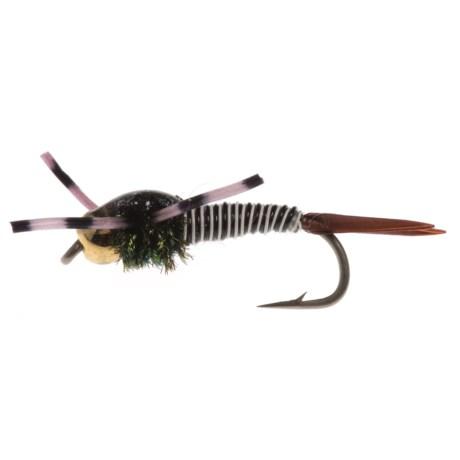 Montana Fly Company Beadhead Rubberleg Copper Bob Nymph Fly - Dozen