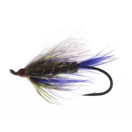 Montana Fly Company Berry's Peacock and Purple Salmon Fly - Dozen