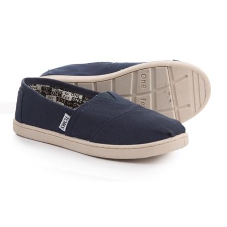 TOMS Classic Alpargata Shoes - Slip-Ons (For Boys)