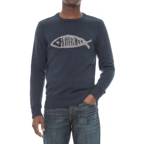 Michael Stars Fish Graphic Sweater (For Men)