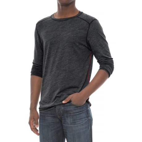 Michael Stars Crew Neck T-Shirt - Long Sleeve (For Men)