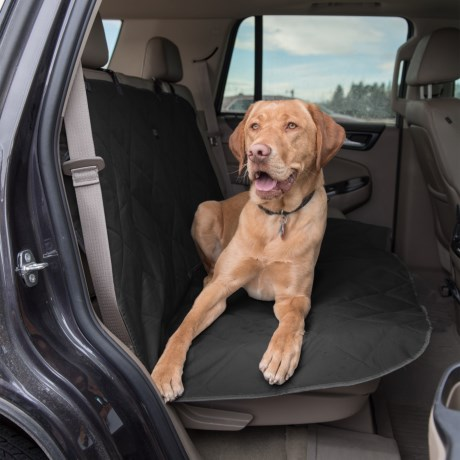 """Animal Planet Quilted Oxford Bench Car Seat Cover - 53x55"""""""
