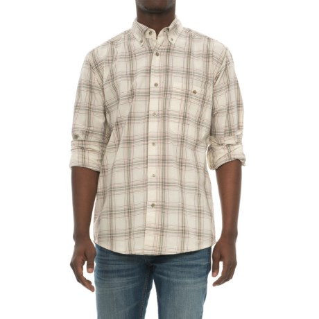 Wrangler Blue Ridge Easy-Care Work Shirt - Long Sleeve (For Men)