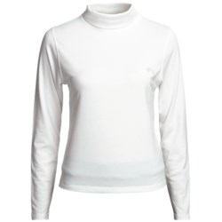 Outback Trading Stretch Turtleneck - Long Sleeve (For Women)