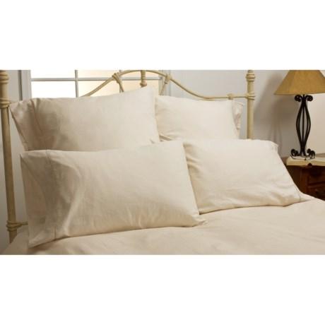 DownTown Paisley Egyptian Cotton Pillow Slips - Pair, Euro