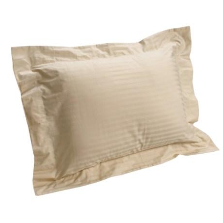 DownTown Regal Pillow Shams - Queen, Pair, 400TC Egyptian Cotton