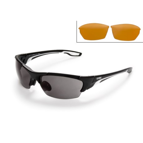 Uvex Blaze Sunglasses - Interchangeable Lenses