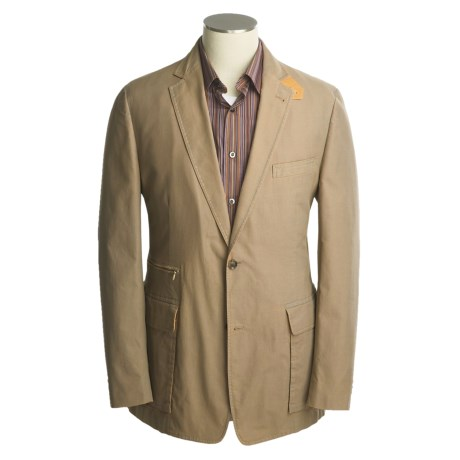 Great travel coat tough cotton casual. - Review of Kroon Walt