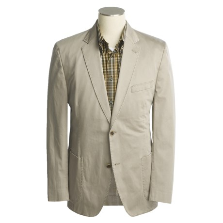 Kroon Faint Twill Sport Coat - Cotton-Rich (For Men)
