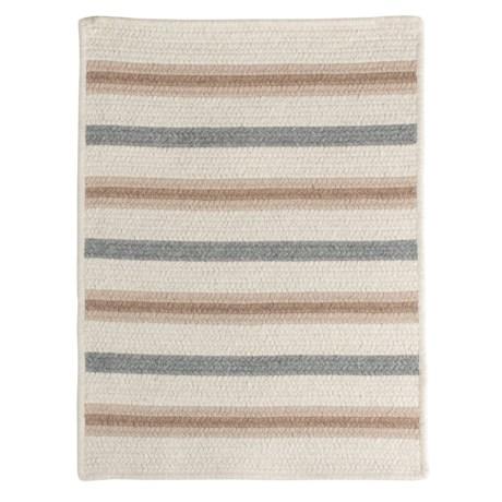 Colonial Mills Allure Braided Rug - Wool Blend, 2x6'