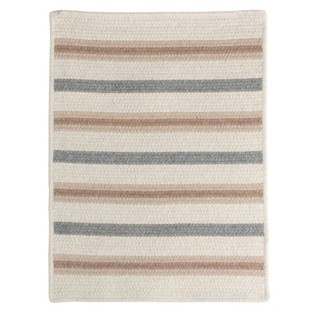 Colonial Mills Allure Braided Rug - Wool Blend, 2x3'