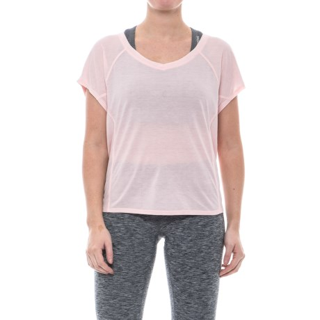 Apana Back-Tie T-Shirt - Short Sleeve (For Women)