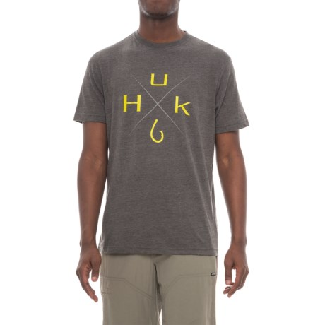 Huk Xmark T-Shirt - Short Sleeve (For Men and Big Men)