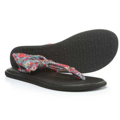 Sanuk Yoga Sling Ella Prints Sandals (For Women)