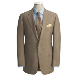 Hickey Freeman Tic Weave with Subtle Windowpane Sport Coat - Worsted Wool (For Men)