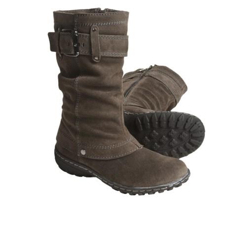Khombu Igloo Winter Boots - Suede (For Women)