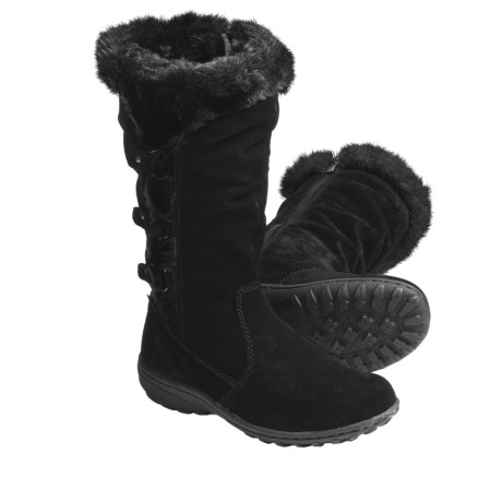 Khombu Denver Winter Boots - Suede, Faux-Fur Lining (For Women)