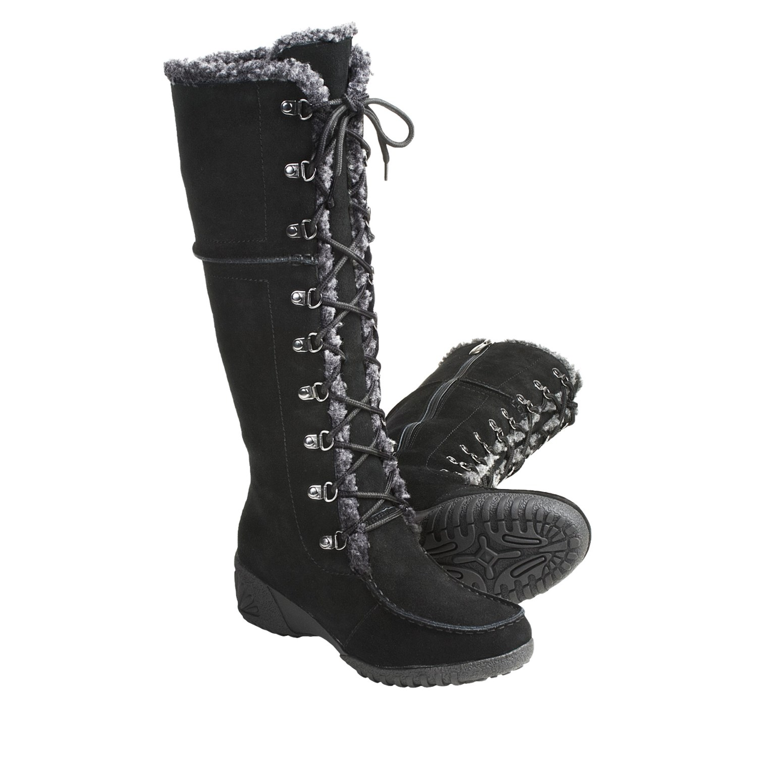 Khombu Saturn Lace Winter Boots (For Women) 3692T - Save 35%